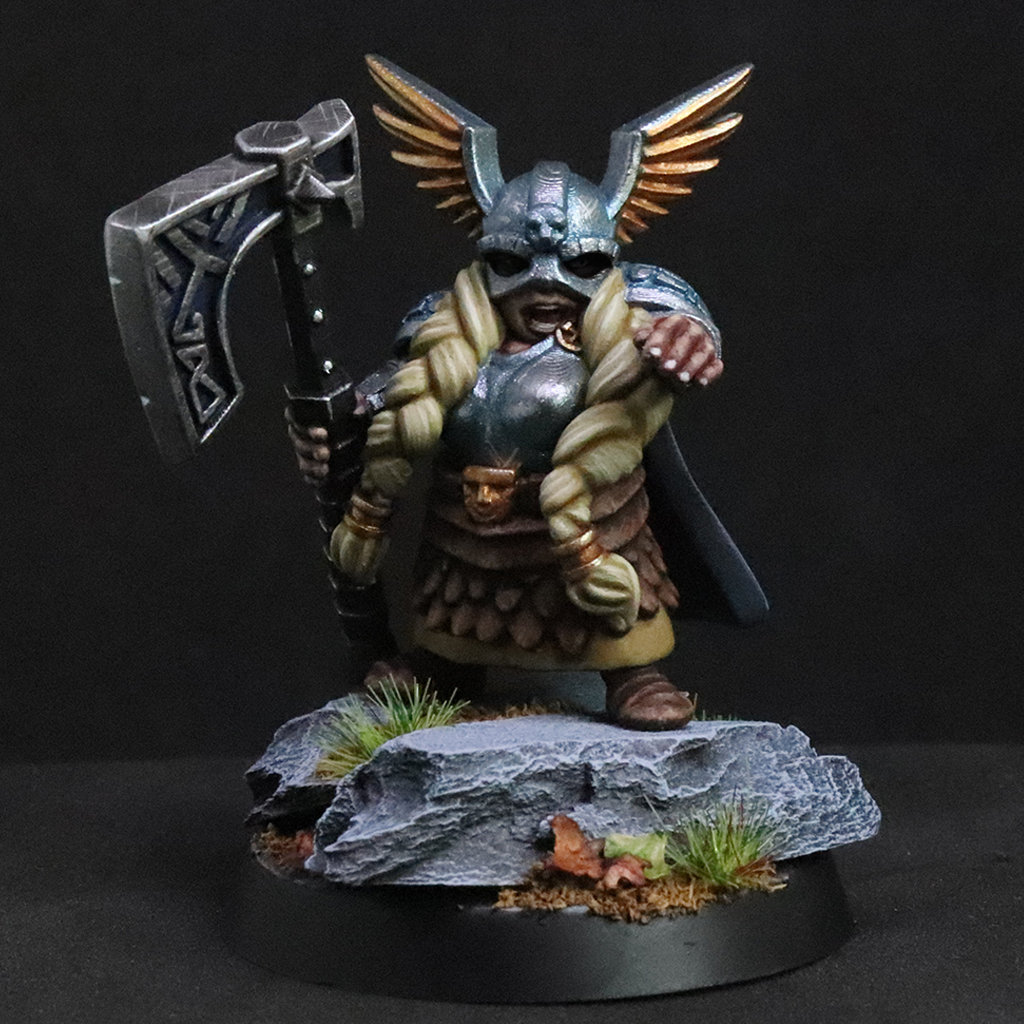 Female Dwarf Hero   Forged Terrain